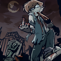 zombie spencer by ohthree