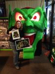 Myself with the Goblin From Maximum Overdrive 2 by Elita-One-Arts