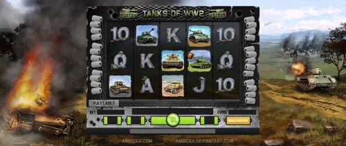Tanks of WW2 Game by amircea