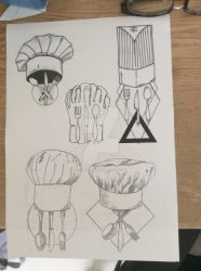 Chef tattoo design by sasan-ghods