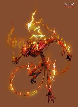 Anima: Fire Demon by Wen-M