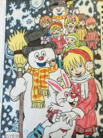 Frosty the Snowman  by GhibliLover92