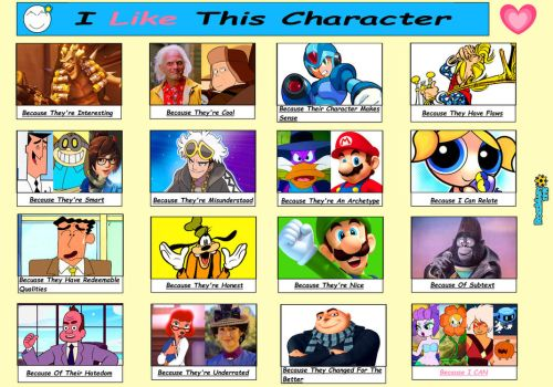 I Like This Character Meme by RoseMary1315