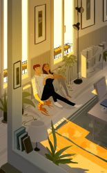 Sort of like a light shower by PascalCampion