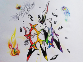 Primal Arceus by ErPorygatto
