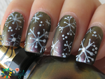 First snowflakes...