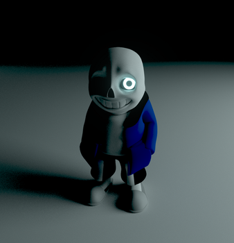 Sans in Blender by Vushker