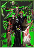 Slasher (colored) by Creeper113