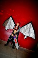 Erza Scarlet - BlackWing Armour by HellDolly