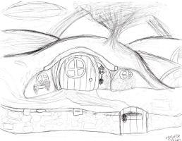 Hobbit Hole uncolored by RYukitsume