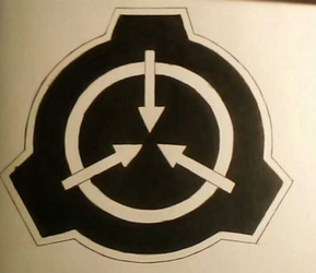 SCP-logo drawing by FundacjaSCPPolska
