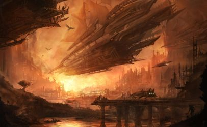 Airships by AlexRuizArt