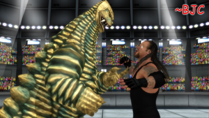 [MMD] - Undertaker vs. Red King by BigJohnnyCool