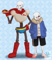 Skelly Bros by animegirl77