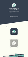 WhatsApp  - Application Concept by KamilBachanek