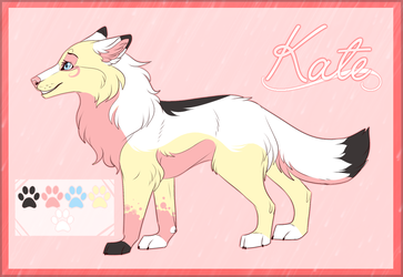Kate Reference Sheet 2017 by Pinky-Poodle