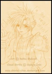 Cloud Strife stay anime 4EVER by Shintei-chan