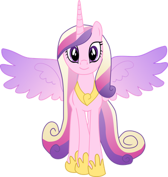 Cadance: revector by Pinkiemina