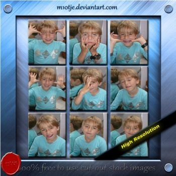 Set of 9 boy images by M10tje