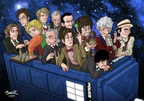 The Dozen Doctors by thecommonwombat