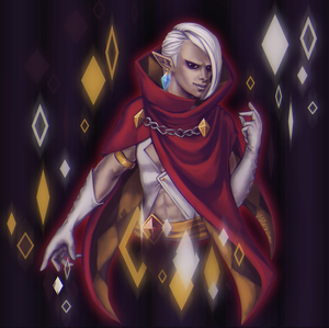 Diamond-Lord Ghirahim by MintyDinosaur