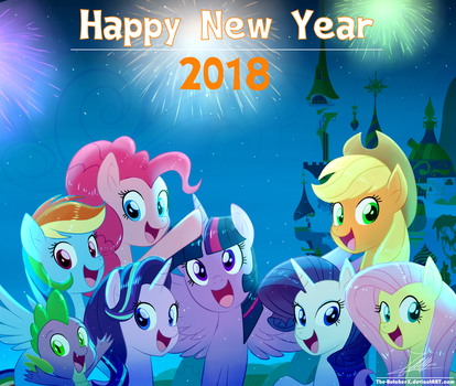 .:HAPPY NEW YEAR 2018:. by The-Butcher-X