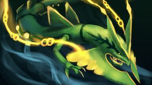 Mega Rayquaza by R8A-creations