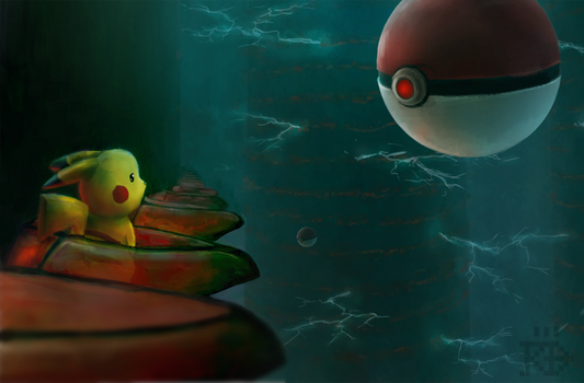 Pikachu finds out about matrix /speedpaint by RGBfumes