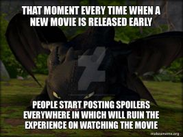How to Train Your Dragon - Angry Toothless Meme by SuperMarioFan65