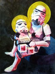 Madonna and Child by Lou-Pimentel