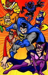 Batman Brave and the Bold by mkeaston77