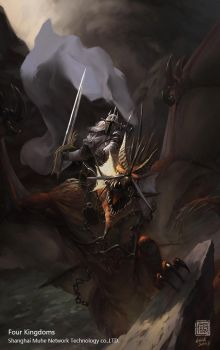 Dark Dragon Knight by 6kart