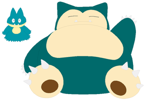 Munchlax and Snorlax Base