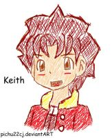 -PR- Keith -scribble- by pichu22cj