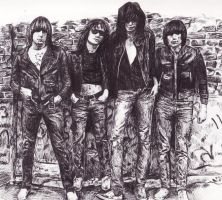 the ramones by crazy-arty-type