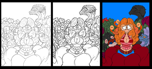 Phantom Pack Chapter1 Cover WIP by GearGades