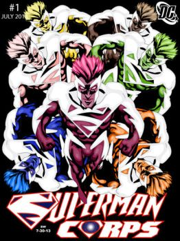 Superman Corps by man0ftomorrow