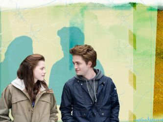Edward and Bella by captjackspeanut
