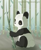 Panda by HidesBehindThings