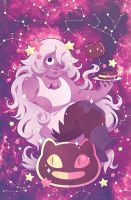 Steven Universe Issue 8 (A) Cover by missypena