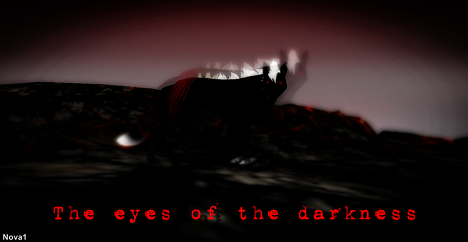 The eyes of the darkness by Wolf-fairi