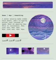 Purple night custombox by My-test-accountt