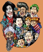 caricatures by Clearmirror-StillH2O