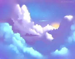 Above the Clouds by UnicornBlue