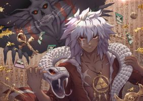 Thief King Bakura - Yu-Gi-Oh! by Ha-orii