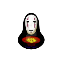 No Face - Spirited Away by sketchygerry