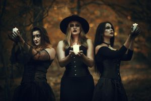 The Witches by LucreciaMortishia