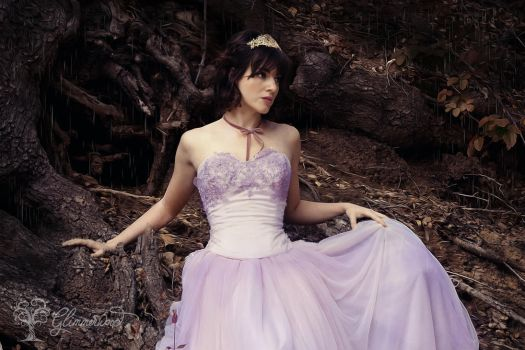 Colleen in the Vanessa Gown by Glimmerwood by glimmerwood