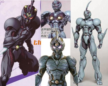 Guyver Reference by duckness