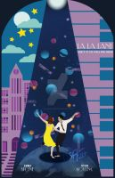 La La Land Movie Poster Art by klarissamari